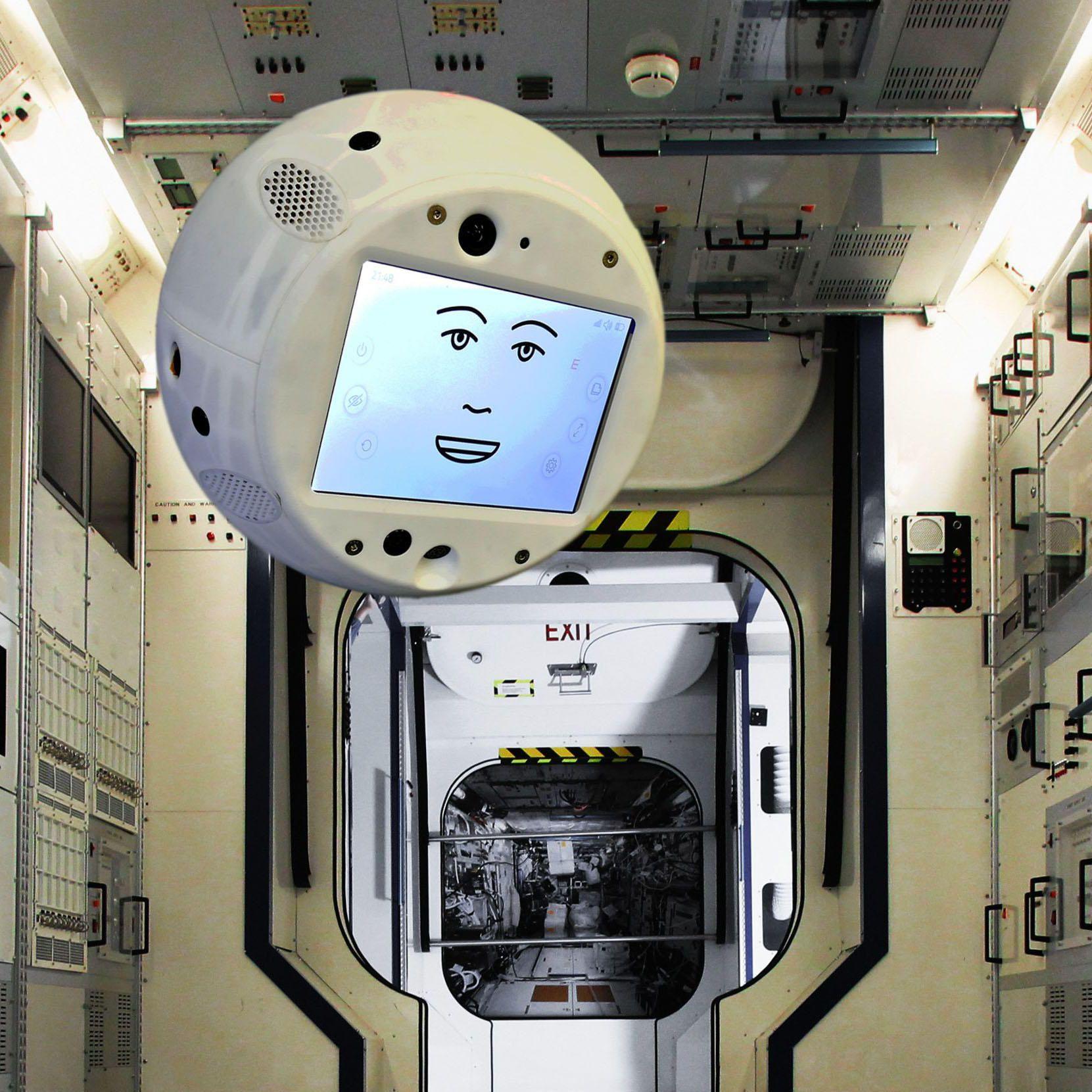 Cimon adlı robot uzay üssünde göreve başladı