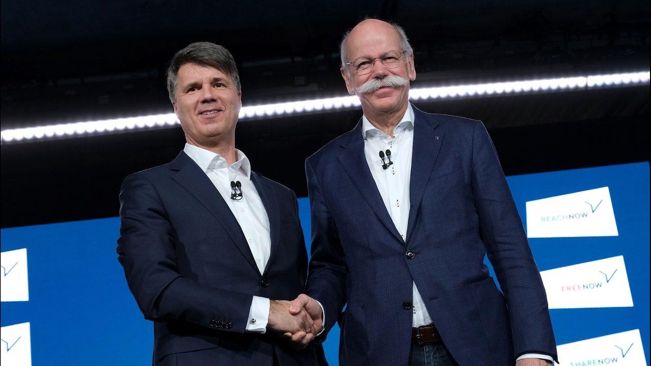 Daimler ve BMW Sürücüsüz Teknolojilerini Paylaşıyor.