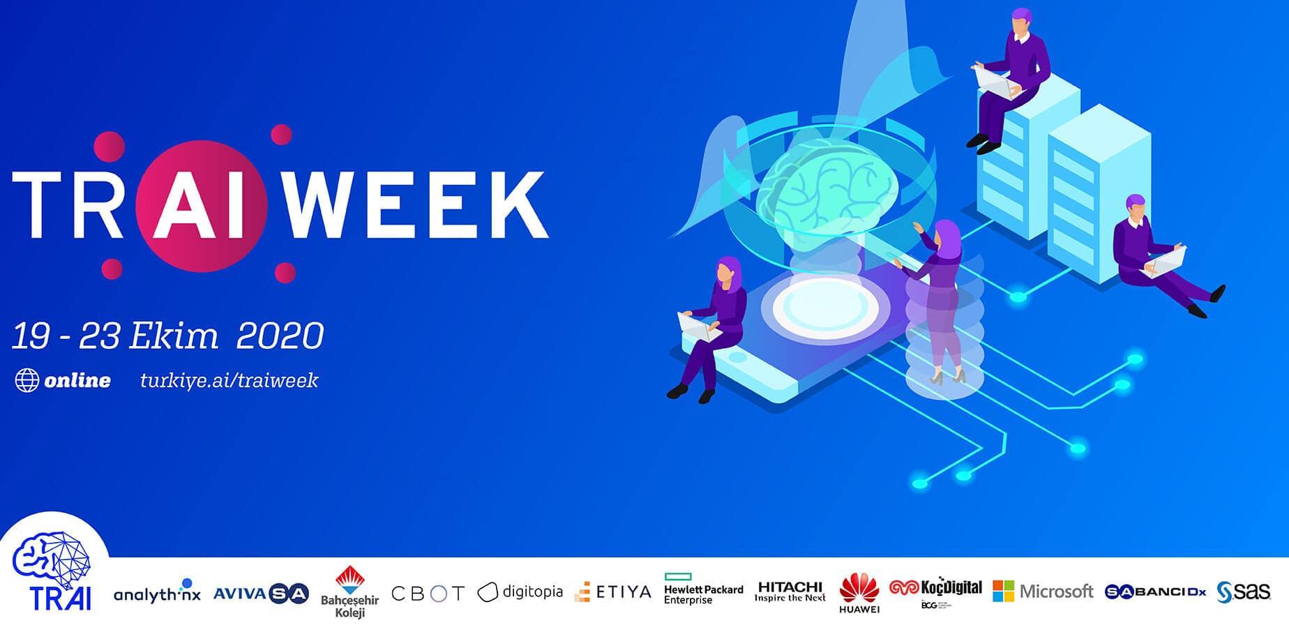 Türkiye Yapay Zeka Haftası 19 Ekim'de Başlıyor