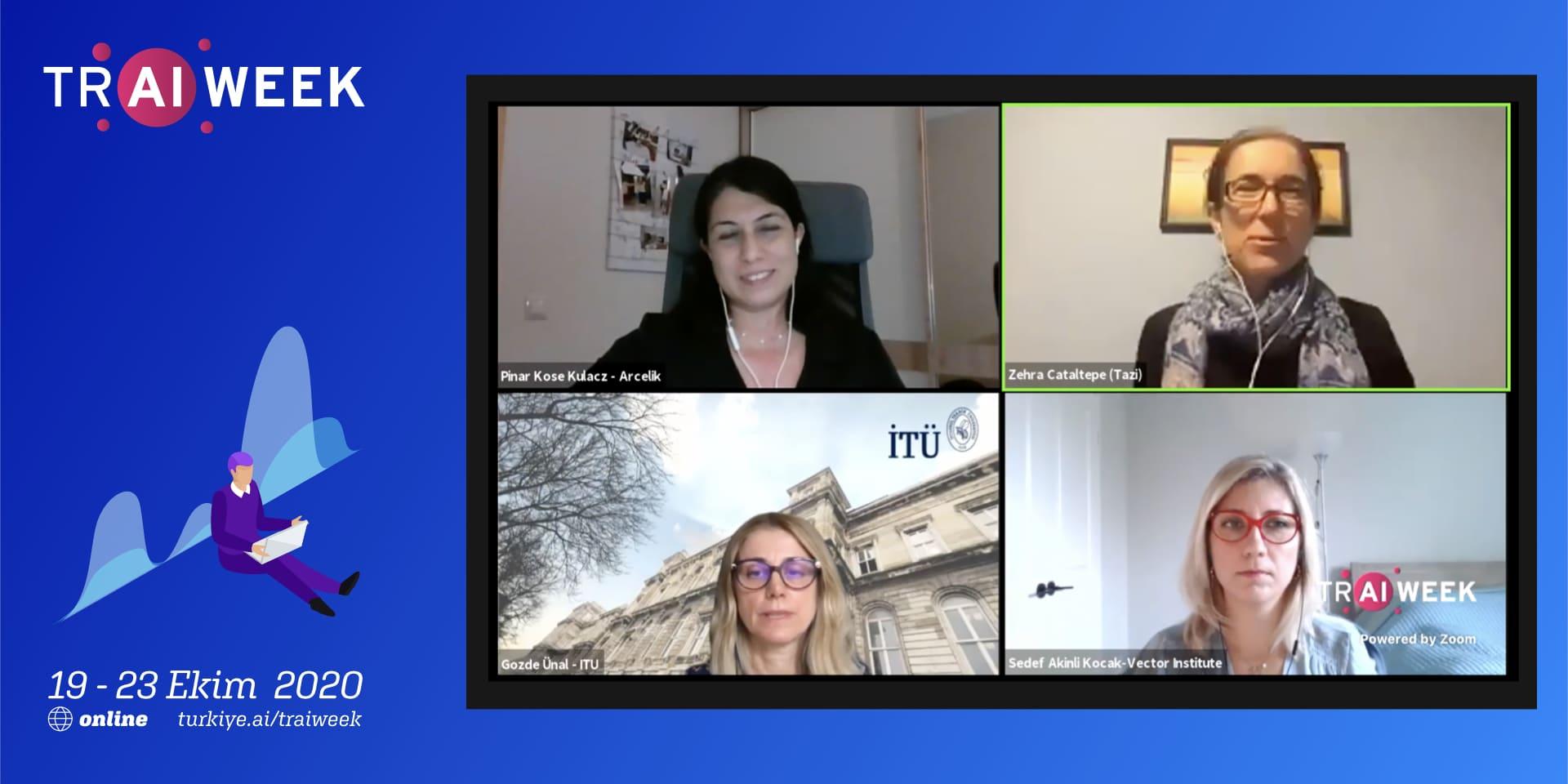 TR AI Week'in İkinci Gününe Kadın Liderler Damgasını Vurdu